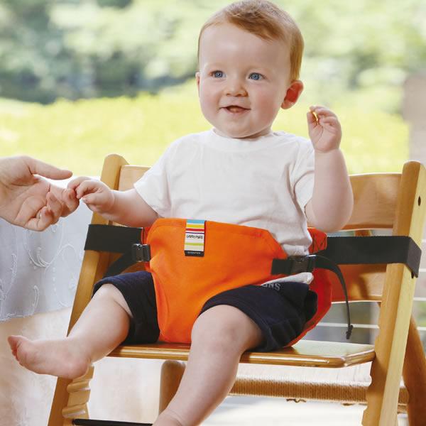 赤ちゃんとのお出かけ・外食に!おすすめチェアベルト